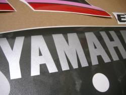Yamaha FZR 1000 Exup 1991 3LE black restoration stickers