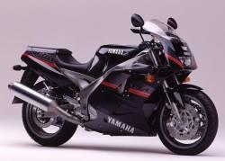 Adhesives for Yamaha FZR 1000 Exup 1991 3LE black model