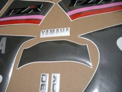 Graphics for Yamaha FZR 1000 Exup 1991 3LE black model