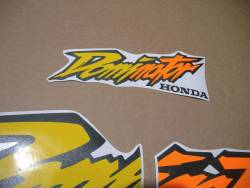Honda Dominator NX650 1998 yellow full stickers set