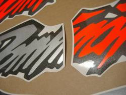 Stickers for Honda Dominator NX 650 1997 orange