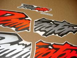 Adhesives for Honda Dominator NX 650 1997 orange