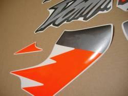 Adesivi for Honda Dominator NX 650 1997 orange