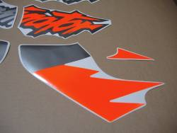 Pegatinas for Honda Dominator NX 650 1997 orange