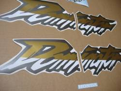Complete replacement sticker set for Honda Dominator '02