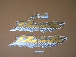 Complete replacement decal set for Honda Dominator '02