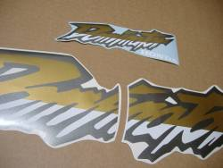 Complete replacement graphics set for Honda Dominator '02