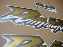 Honda NX Dominator 650 black 2001-2002 stickers set