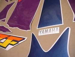 Yamaha YZF 750R white version restoration graphics