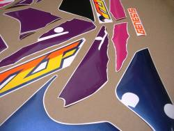 Yamaha YZF 750R white model aftermarket decals