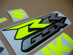 Suzuki GSXRR 1000 aftermarket yellow/green decals