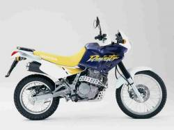 Honda Dominator nx650 '00 blue/yellow model decals