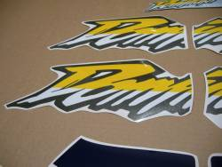 Honda Dominator nx650 2000 aftermarket decal set