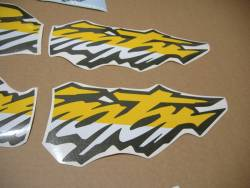 Honda Dominator nx650 2000 logo emblems decals