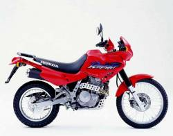 Honda Dominator nx650 red model original stickers