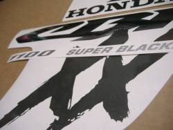 Honda cbr 1100xx blackbird restoration graphics kit