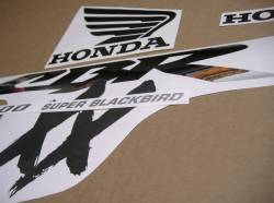 Honda cbr 1100xx blackbird restoration sticker kit