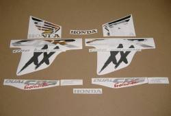 Honda cbr 1100xx blackbird restoration decals kit