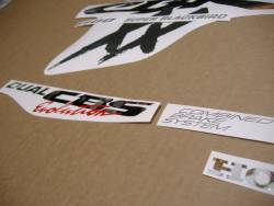 Honda cbr 1100xx blackbird replacement decals kit