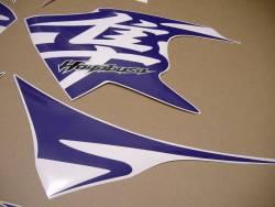 Purple decals for Suzuki hayabusa 1340 (MK2 2nd gen.)