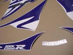 Purple kanji sticker set for Suzuki Hayabusa 1340 l1-l8
