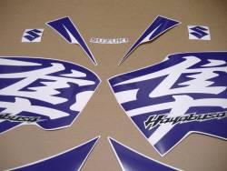 Purple stickers for Suzuki hayabusa 1340 (MK2 2nd gen.)