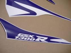 Purple graphics for Suzuki hayabusa 1340 (MK2 2nd gen.)