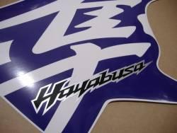 Purple adhesives for Suzuki hayabusa 1340 (MK2 2nd gen.)