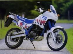Suzuki DR 650 RSE 1991 white model aftermarket decals
