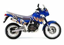 Suzuki DR650 RS 1992 blue version complete graphics