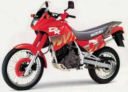 Suzuki DR 650 RSE 1993 red version decals kit