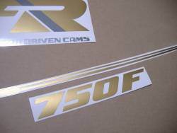 Graphics set for Honda VFR 750f '89 white model