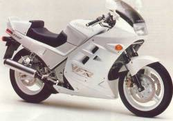 Honda VFR 750f 1989-1990 white model stickers set