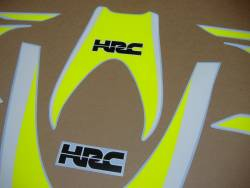 Signal yellow decals for Honda CBR 1000RR sc59