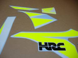 Fluorescent yellow decals for Honda CBR 1000RR sc59