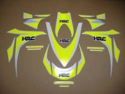 Neon yellow decals for Honda CBR 1000RR Fireblade