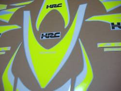 Fluo yellow decals for Honda CBR 1000RR Fireblade