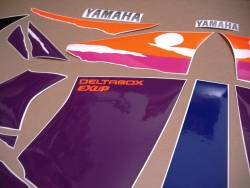 Yamaha YZF 750 SP genuine style decals set