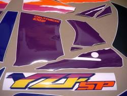 Yamaha YZF 750 SP genuine style graphics set