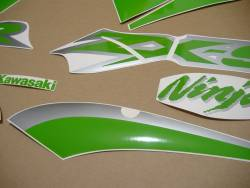 Lime green color stickers for Kawasaki ZX9R 02-03