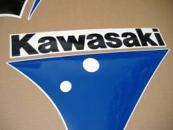 Kawasaki zx-7 1991 complete replacement sticker set