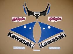 Decals pattern set for Kawasaki zx-7 ninja 1991