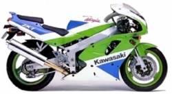 Kawasaki zx7 1991 j1 oem style restoration stickers