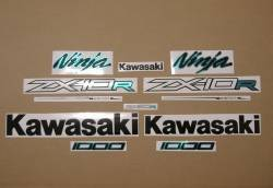 Kawasaki zx10r ninja 2011-2016 alternative color decals