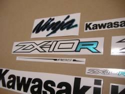 Kawasaki zx10r ninja 2011-2016 alternative color graphics