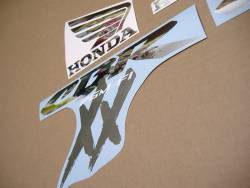 Honda cbr 1100xx blackbird 2003 oem pattern decals