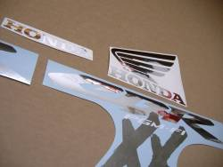 Decals for Honda cbr 1100 xx blackbird 2003 black