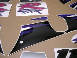 Stickers for Suzuki GSXR 1100w 1993 black/grey model