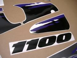 Graphics for Suzuki GSXR 1100w 1993 black/grey model