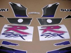 Adhesives for Suzuki GSXR 1100w 1993 black/grey model